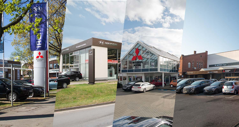 4 Autohäuser in Berlin und Brandenburg