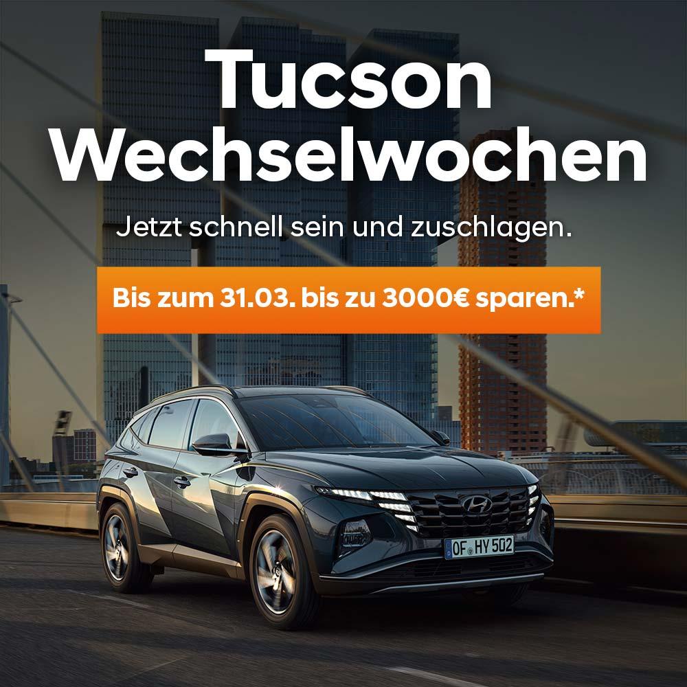 Hyundai Tucson Wechselwochen