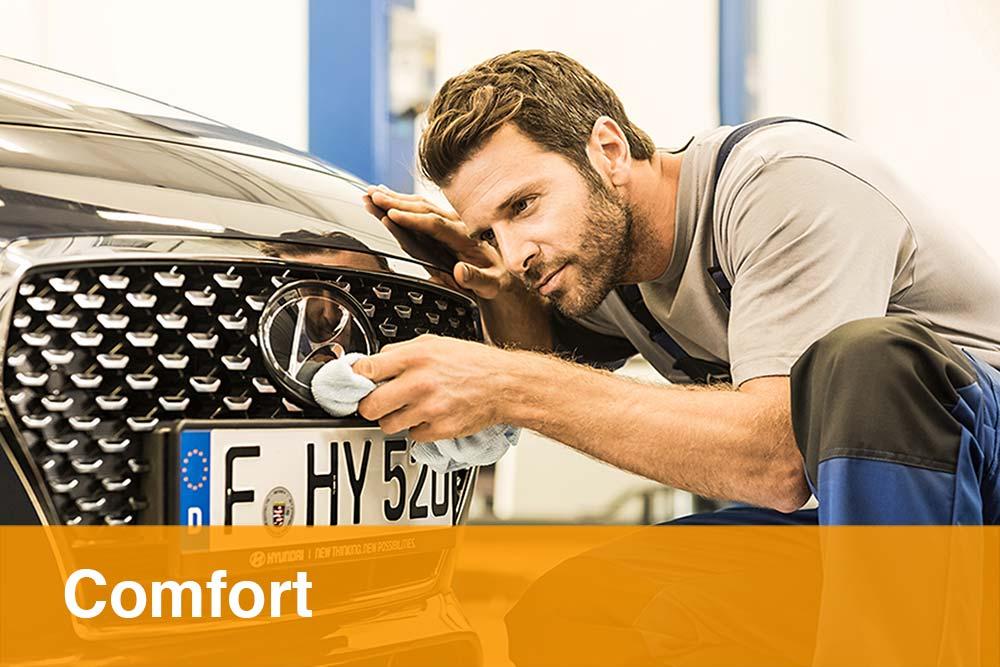 Fahrzeugpflege Comfort Paket