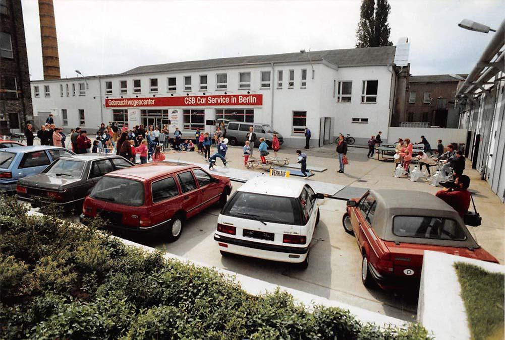 Firmengeschichte CSB Schimmel Automobile 1990