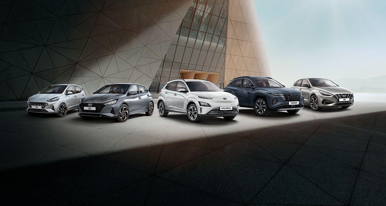 30 Jahre Deutschland Hyundai Sondermodelle