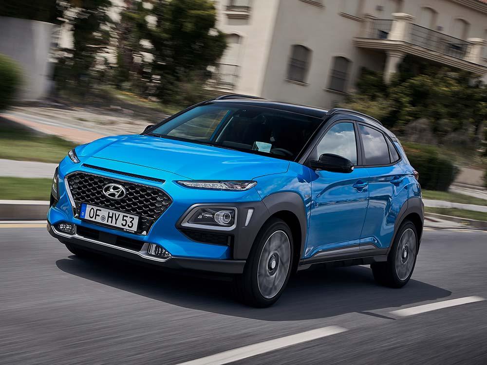 Hyundai Kona Hybrid Design