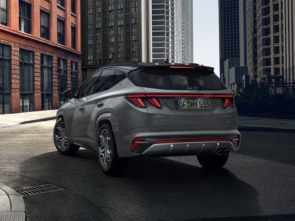 Hyundai Tucson N Line Futuristisches Design