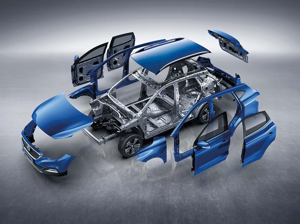 MG ZS EV Design
