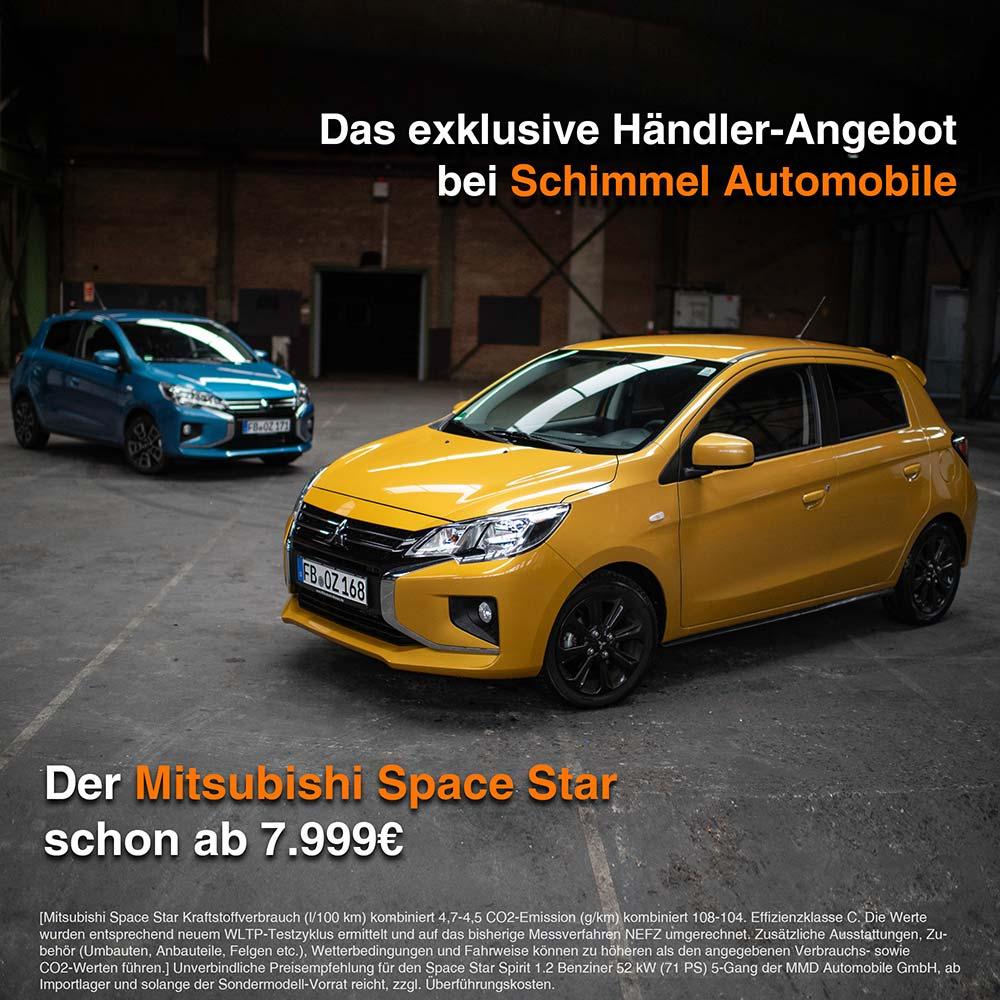 Mitsubishi Space Star exklusiver Händlerpreis