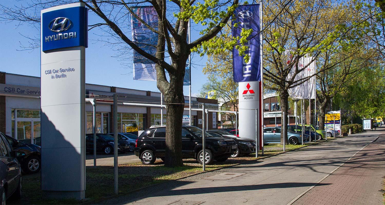 Hyundai und Mitsubishi Autohaus in Berlin Spandau