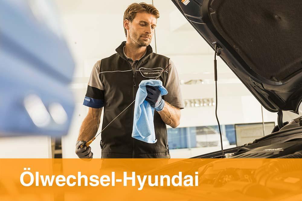 Ölwechsel Hyundai