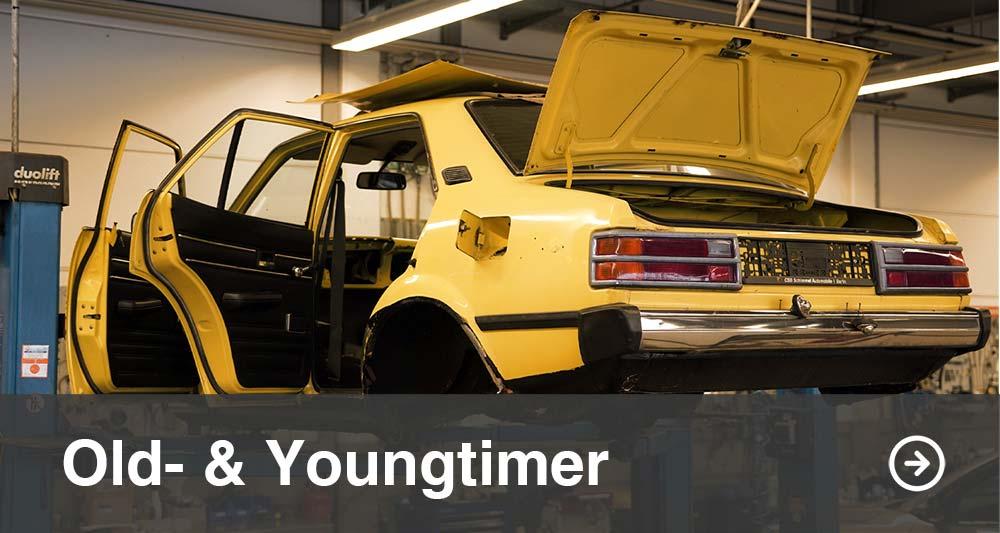 Oldtimer und Youngtimer Werkstatt in Berlin