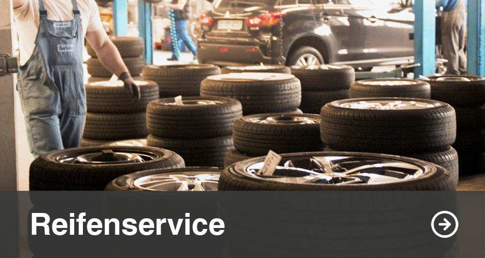 Reifenwechsel Service