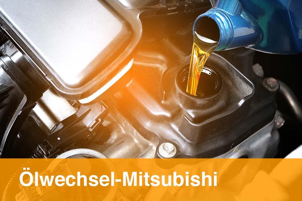 Ölwechsel Mitsubishi